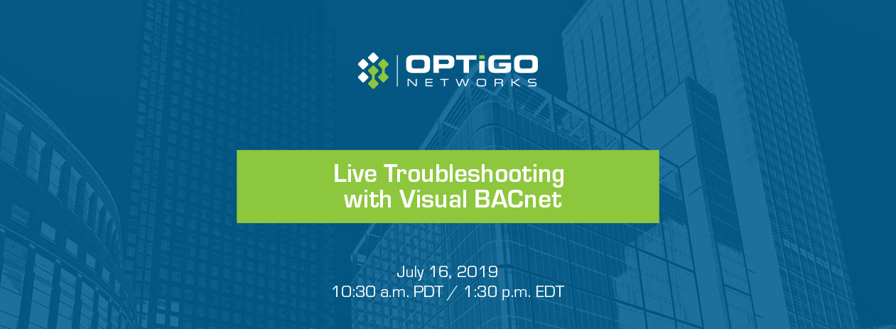 Visual BACnet live troubleshooting webinar