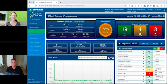 Learn to use the powerful Visual BACnet dashboard, the BACnet Browser