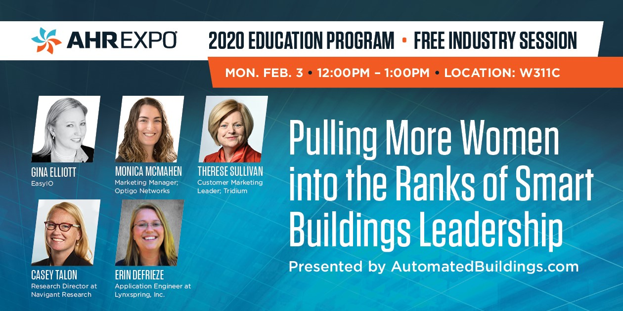 AHR Expo 2020 panel on pulling more women into the industry