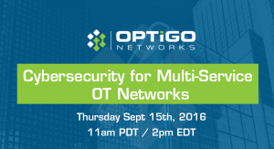 Cybersecurity for Multi-Service OT Networks