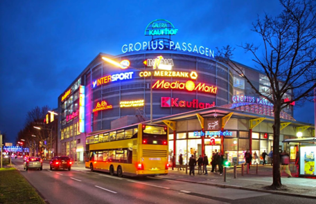 Gropius Passagen Shopping Mall by Delta Controls Germany